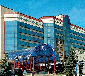 Hotel Central Donetsk ***+ in Donetsk