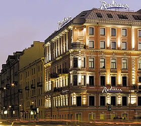 Hotel Radisson Sonya Hotel, St.Petersburg **** in Sankt Petersburg